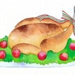 ローストチキンのおいしい温め方と丸鶏の切り方、盛り付けのコツ