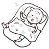 2歳児の昼寝が長い?上手な起こし方と寝起き悪いときのご機嫌取り