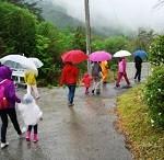 雨の日に赤ちゃん連れでお出かけ。ベビーカーと抱っこ紐で傘は?