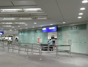 香港国際空港乗り継ぎのセキュリティーチェックイミグレ